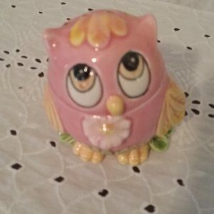 Owl Potpourri Holder - Vintage